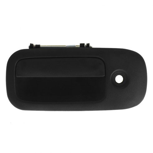 03-12 Chevy Express, GMC Savana Van Front Textured Black Outside Door Handle w/Keyhole LF