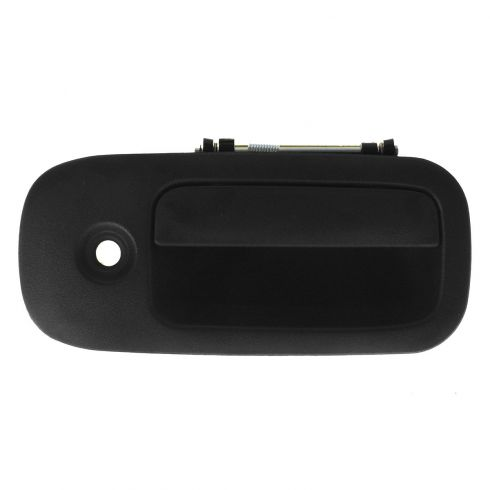 03-12 Chevy Express, GMC Savana Van Front Textured Black Outside Door Handle w/Keyhole RF
