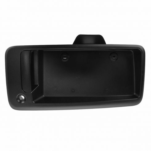 96-14 Chevy Express, GMC Savana Van Rear Door Textured Black Handle w/License Plate Pocket RR