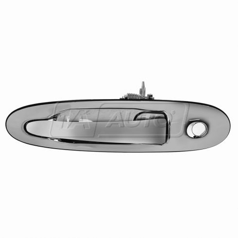 98-02 Lincoln Towncar; 99-02 Continental Front Chrome Exterior Door Handle (w/Keyhole) LF