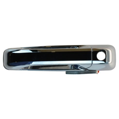 09-13 Dodge Ram 1500; 10-13 2500 3500 Front Chrome Black Door Handle (w/Keyhole)