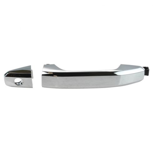 14-15 Silverado, Sierra 1500; 2015 2500, 3500 Front Chrome Outer Door Handle LF