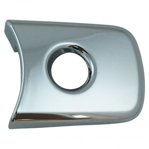03-08 Murano; 10-14 Rogue; 03-08 FX35, FX45 Front Outer Chrome Door Handle Lock Bezel LF (Nissan)