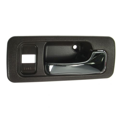 Brown 4 door with Power Locks Passenger Front Interior Door Handle