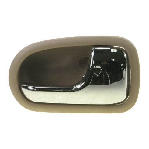 1995-03 Mazda Protege Chrome & Lt Brown Inside Door handle RF & RR