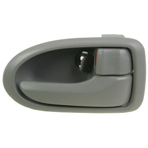 2000-06 Mazda MPV Gray Inside Door Handle RF