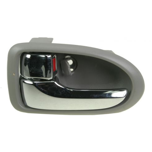 2000-06 Mazda MPV Chrome & Gray Inside Door Handle LF