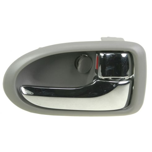 2000-06 Mazda MPV Chrome & Gray Inside Door Handle RF