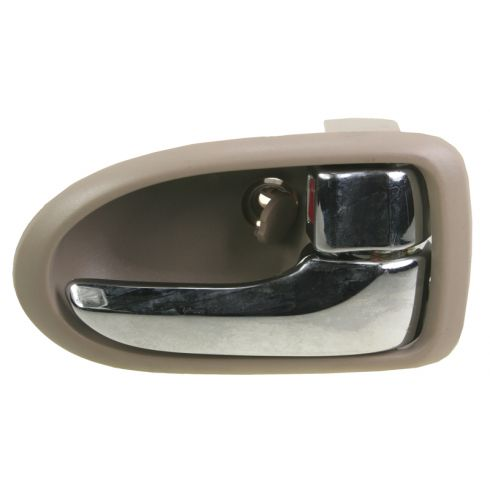 2000-06 Mazda MPV Chrome & Beige Inside Door Handle RF