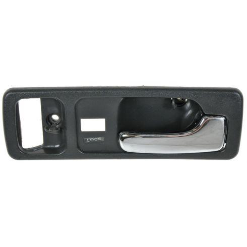 90-93 Honda Accord 2dr w/Pwr Locks Gray Inside Door Handle RH