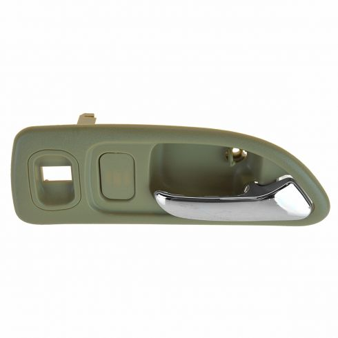 94-97 Hnda Accord 4DR (w/Pwr Locks & Pwr Wdw Prov) Frnt (Beige w/Chrome Lever) Inside Door Handle RF