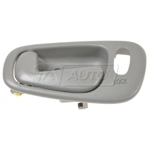 98-02 Chevy Prizm, Toyota Corolla w/Pwr Locks Dk Gray Inside Door Handle LF