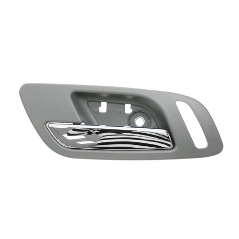 07-12 GM Full Size PU & SUV (w/Htd Seat & w/o Memory) Frnt Door Inside Handle (Titanium & Chrome) LF