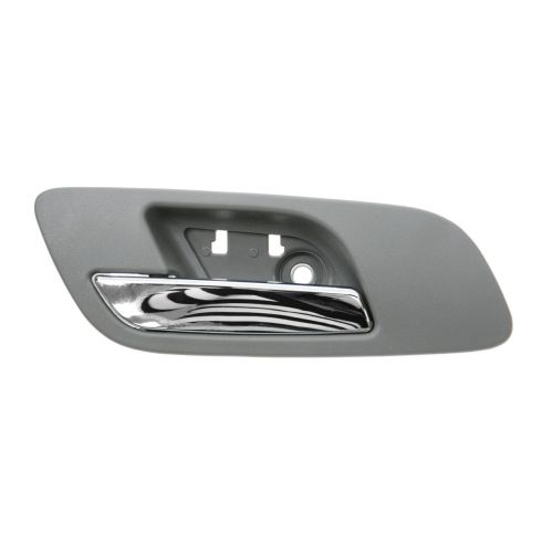 07-12 GM Full Size PU & SUV (w/o Htd Seat or Memory) Front Door Inside Handle (Titanium & Chrome) LF