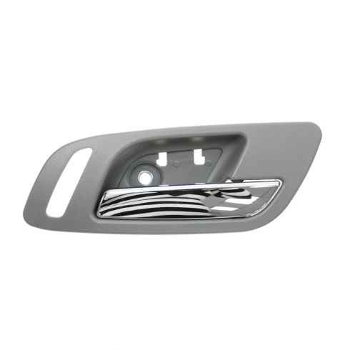 07-11 GM Full Size PU & SUV Front Door Inside Handle (Titanium & Chrome) RF