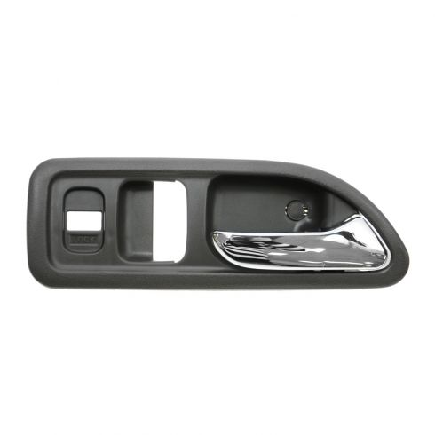 94-97 Honda Accord 2dr w/Pwr Locks Chrome & Gray Inside Door Handle RH