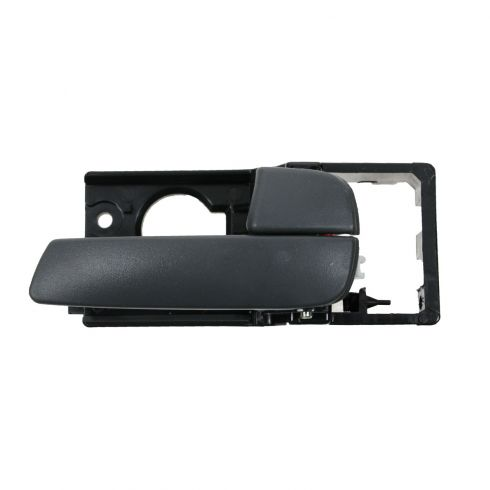 06-11 Kia Rio Sedan, Rio5 Smooth Gray Front Door Inside Handle RF