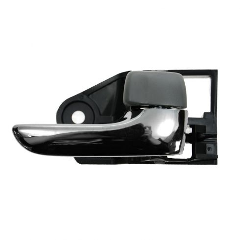 04-08 Toyota Solara RH; 05-12 Avalon Chrome & Medium Gray Inside Door Handle RF = RR