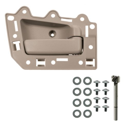05-10 Jeep Grand Cherokee Front Inner All Beige Door Handle Repair Kit RF