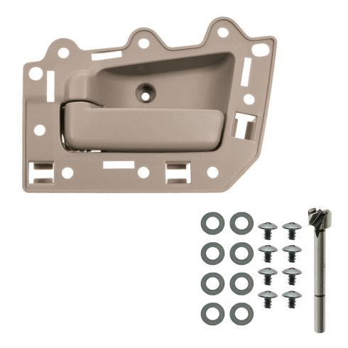 05-10 Jeep Grand Cherokee Rear Inner All Beige Door Handle Repair Kit LR