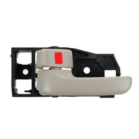 01-07 Toyota Highlander; 06-07 Highlander Hybrid Inner Ivory Door Handle LF = LR