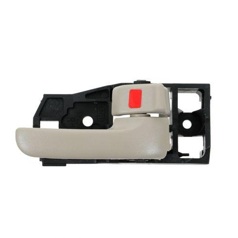 01-07 Toyota Highlander; 06-07 Highlander Hybrid Inner Ivory Door Handle RF = RR