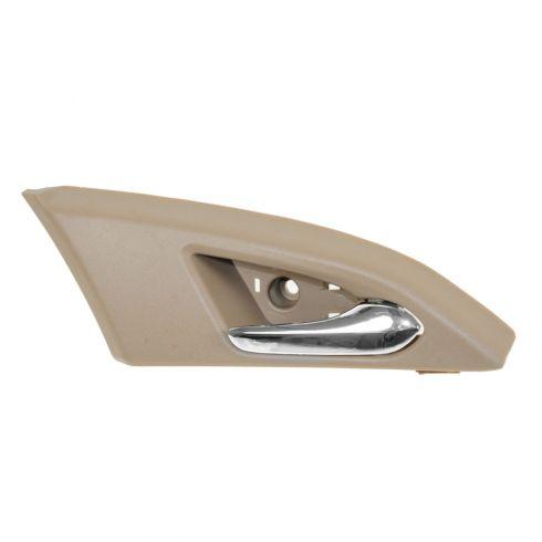 08-12 Cadillac CTS, CTS-V Sedan Front Inner Beige & Chrome Door Handle Repair Kit RF