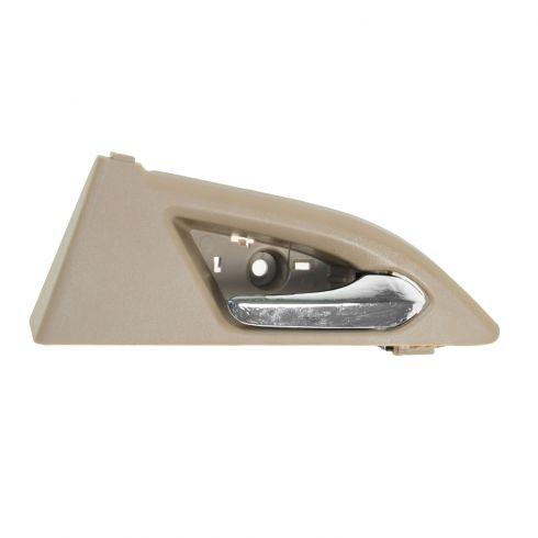 08-12 Cadillac CTS, CTS-V Sedan Rear Inner Beige & Chrome Door Handle Repair Kit RR