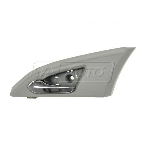 08-12 Cadillac CTS, CTS-V Sedan (w/o Memory) Front Inner Gray & Chrome Door Handle Repair Kit LF