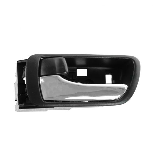 02-06 Toyota Camry Black w/Chrome Lever Inside Door Handle LF = LR