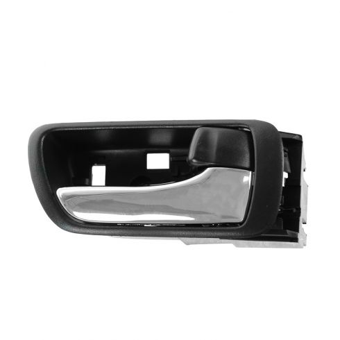02-06 Toyota Camry Black w/Chrome Lever Inside Door Handle RF = RR