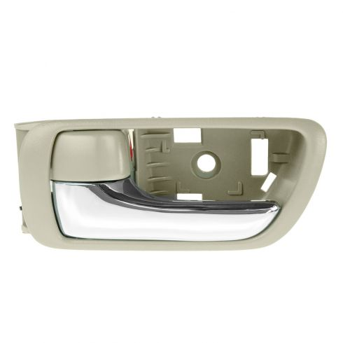 02-06 Toyota Camry Beige w/Chrome Lever Inside Door Handle LF = LR