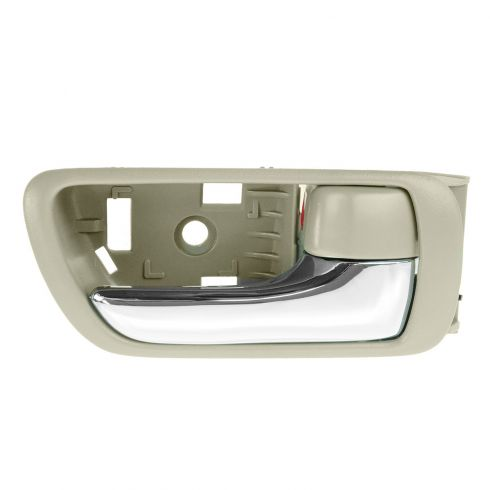 02-06 Toyota Camry Beige w/Chrome Lever Inside Door Handle RF = RR