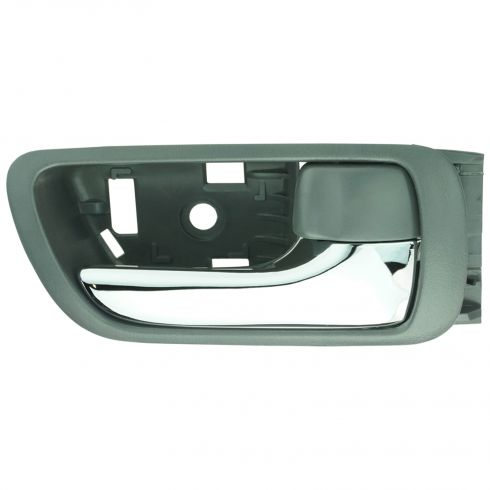 02-06 Toyota Camry Gray w/Chrome Lever Inside Door Handle RF = RR