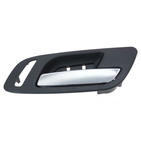 07-12 GM Full Size PU & SUV (w/Heated Seat, w/o Memory) Front Door Inside Handle (Ebony & Chrome) RF