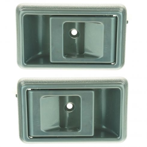 1988-92 Prizm 4Runner Corolla Gray Inside Door Handle Pair