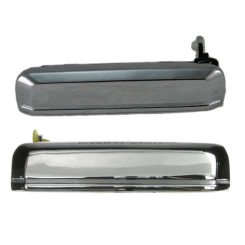 Nissan Pickup Truck Chrome Exterior Door Handle Pair