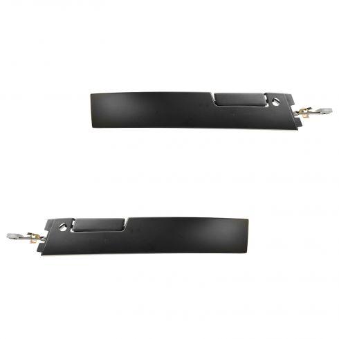 88-96 Regal 2dr Flat Black Ext Door Handle Pair