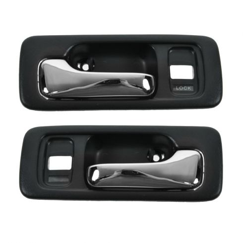 4dr with Power Locks Blue Inside Door Handle Pair