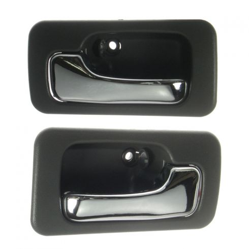 Gray 4 door with Manual Locks Front or Rear Interior Door Handle Pair