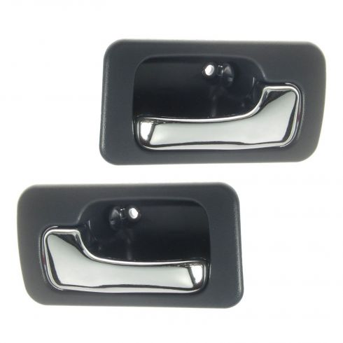 90-93 Honda Accord Blue 4 door with Manual Locks Front or Rear Interior Door Handle Pair
