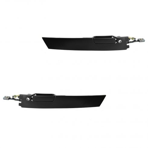 FLAT BLACK 88-91 Olds Supreme Ext Door Handle Pair