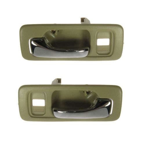 Door Handle Beige Interior Front Pair