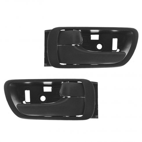 02-06 Toyota Camry Dk Gray Inner Door Handle Front Pair