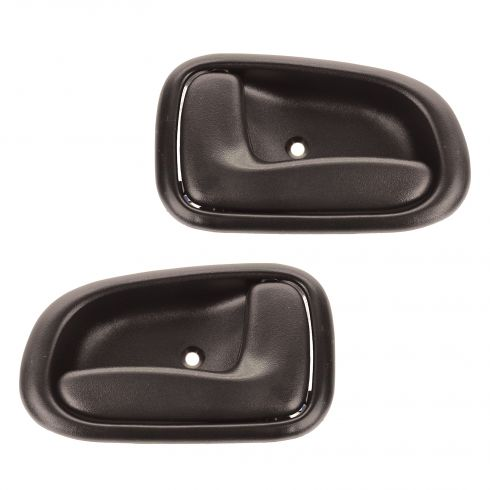 93-97 Corolla Door Handle Inside Brn With P\L Pair