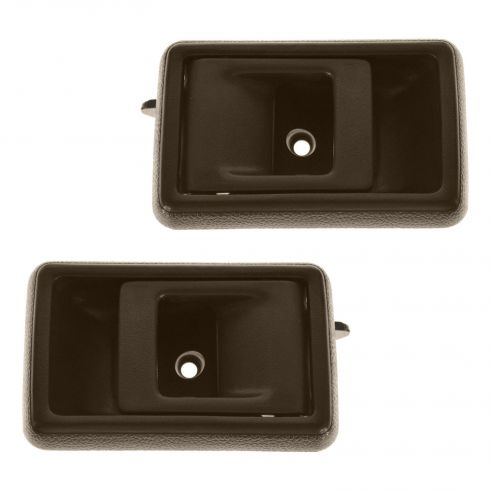 1988-92 Toyota Corolla Interior Door Handle Brown Front Pair Rear Pair