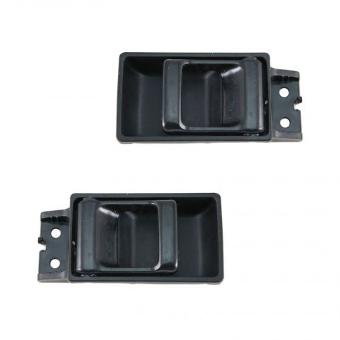Nissan Pickup Door Handle Inside Black LH or RH