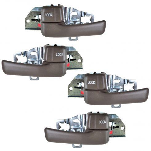 Door Handle Inside Front or Rear Brown LH
