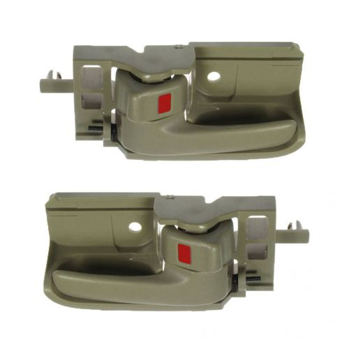 Interior Door Handle Tan PAIR