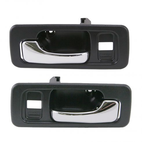 Interior Door Handle Black Pair